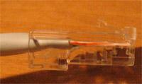Kabel zaciśnięty prawidłowo